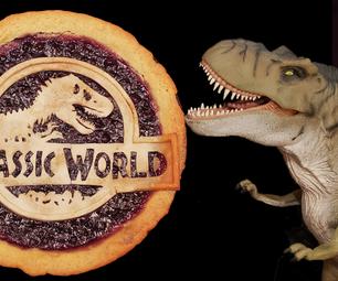 蓝莓饼rannosaurus:Dino-螨虫甜点!