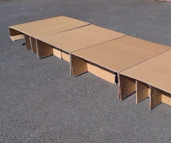 Card Beds for Homeless People
