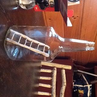 Ladder in a Bottle Trick
