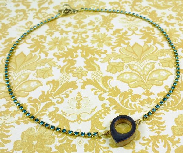 Spring Raindrop Necklace