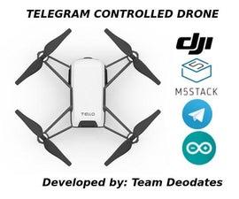 Telegram Controlled Drone