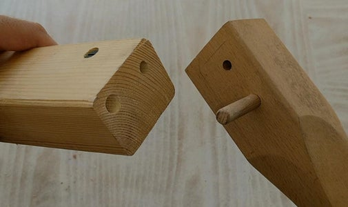 Connecting the Wooden Parts
