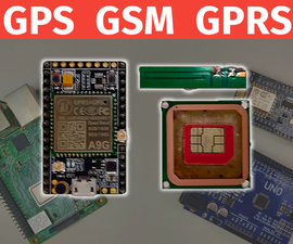 A9G GPS & GPRS Module Tutorial | Ai-Thinker | AT Commands