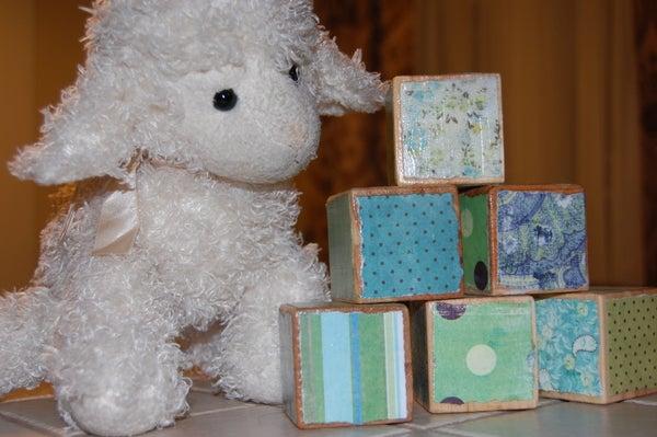 Make Designer-Style Baby Blocks