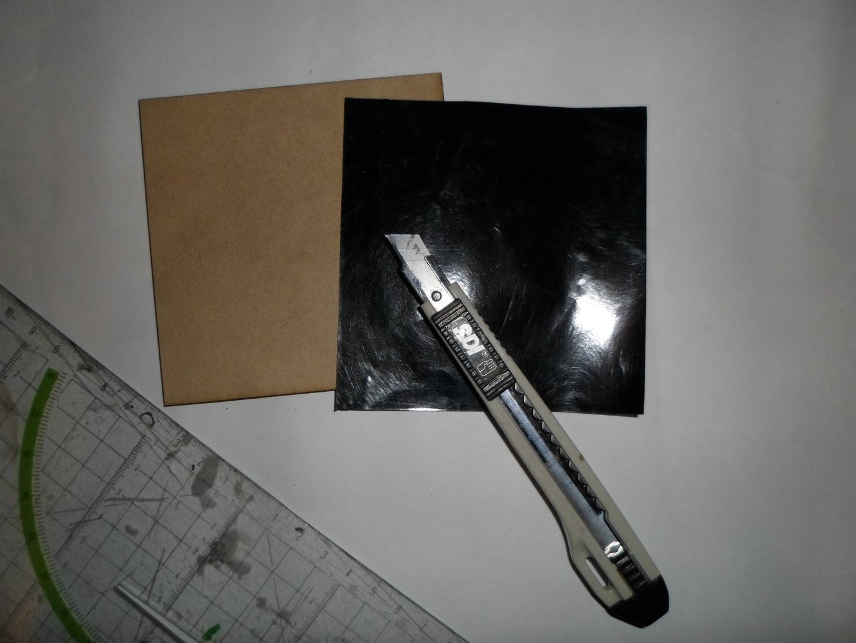 Step 2: Cut the Vinyl Paper