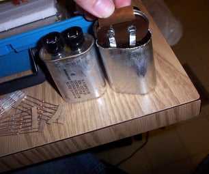 How to Remove the Bleeder Resistor in Microwave Capacitors.