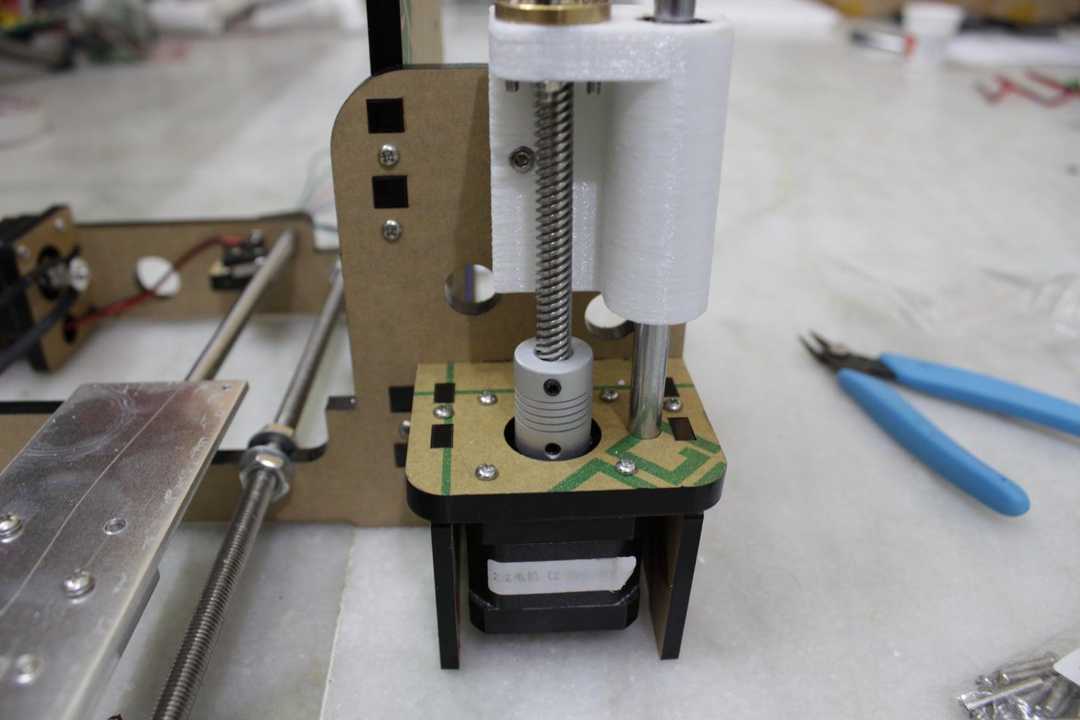 Z Motor Axis Assembling