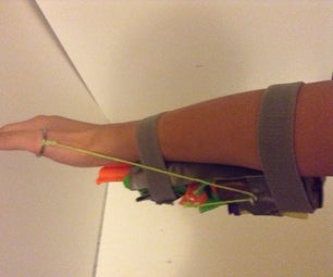 How to Mod the NERF Zombie Strike Doublestrike Blaster to Be Wrist-mounted