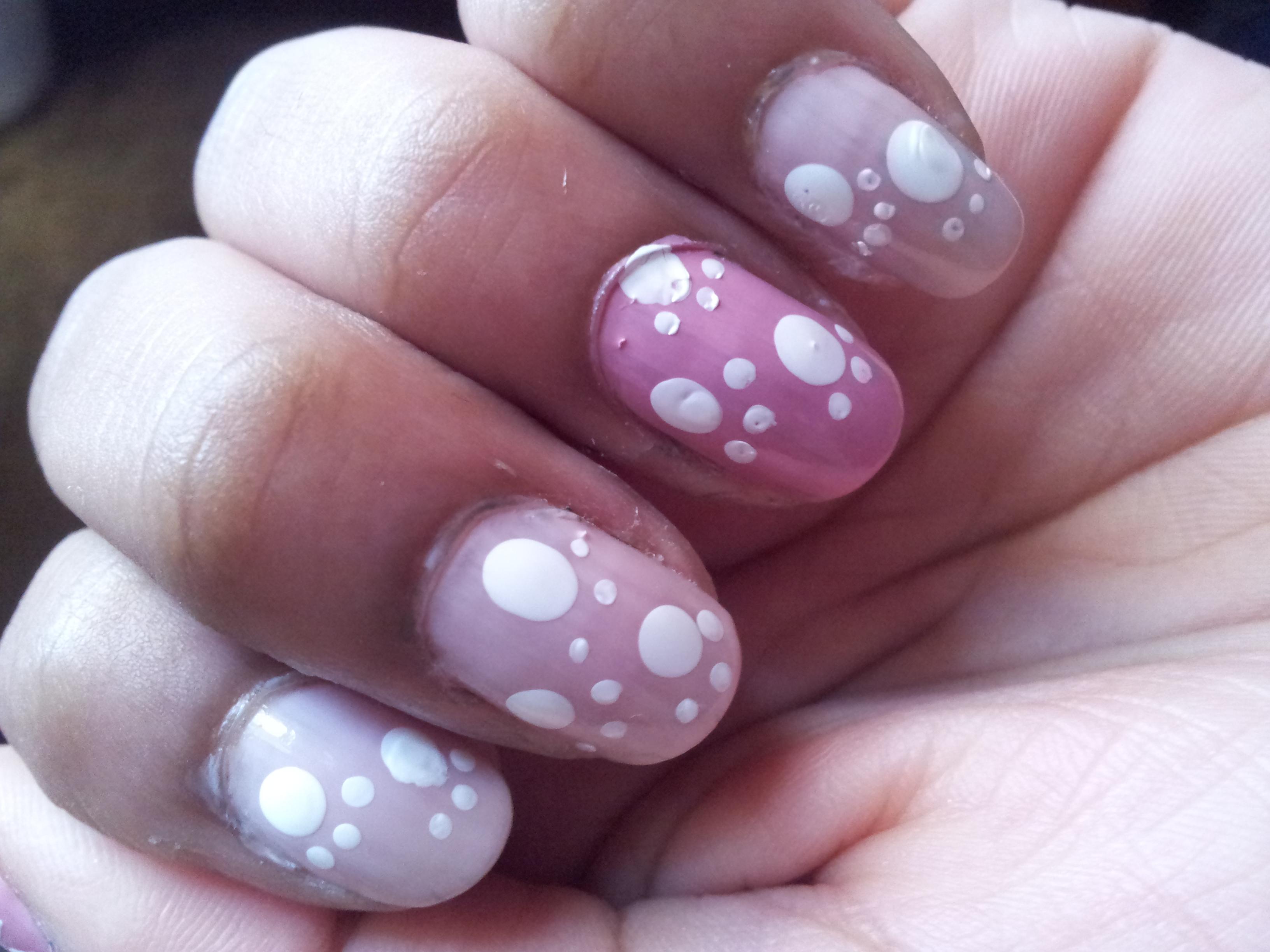 Pawprint Nail Art