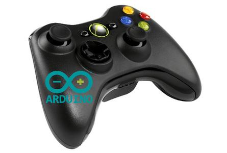 Xbox 360 Wireless + Arduino