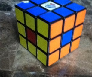 Rubik's Cube 3x3 Dot in Center
