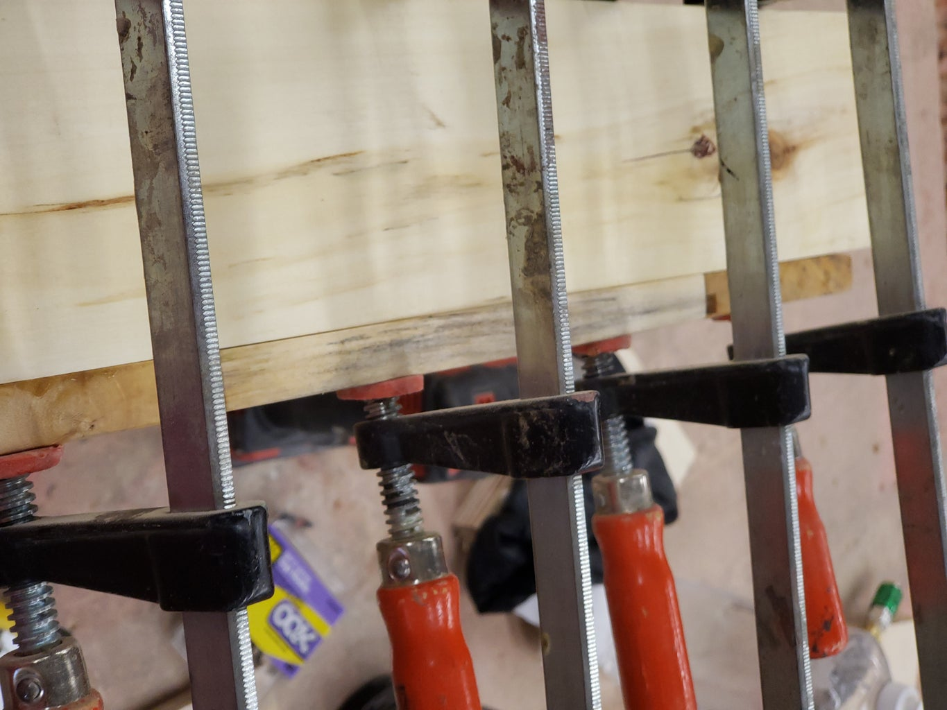 Attaching the Base and Hooks