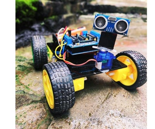 Obstacle Avoiding Robot    ◉‿◉