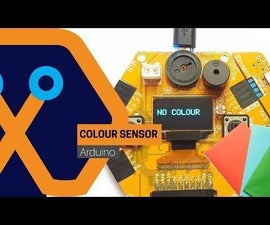 Simple DIY Colour Sensor From Magicbit