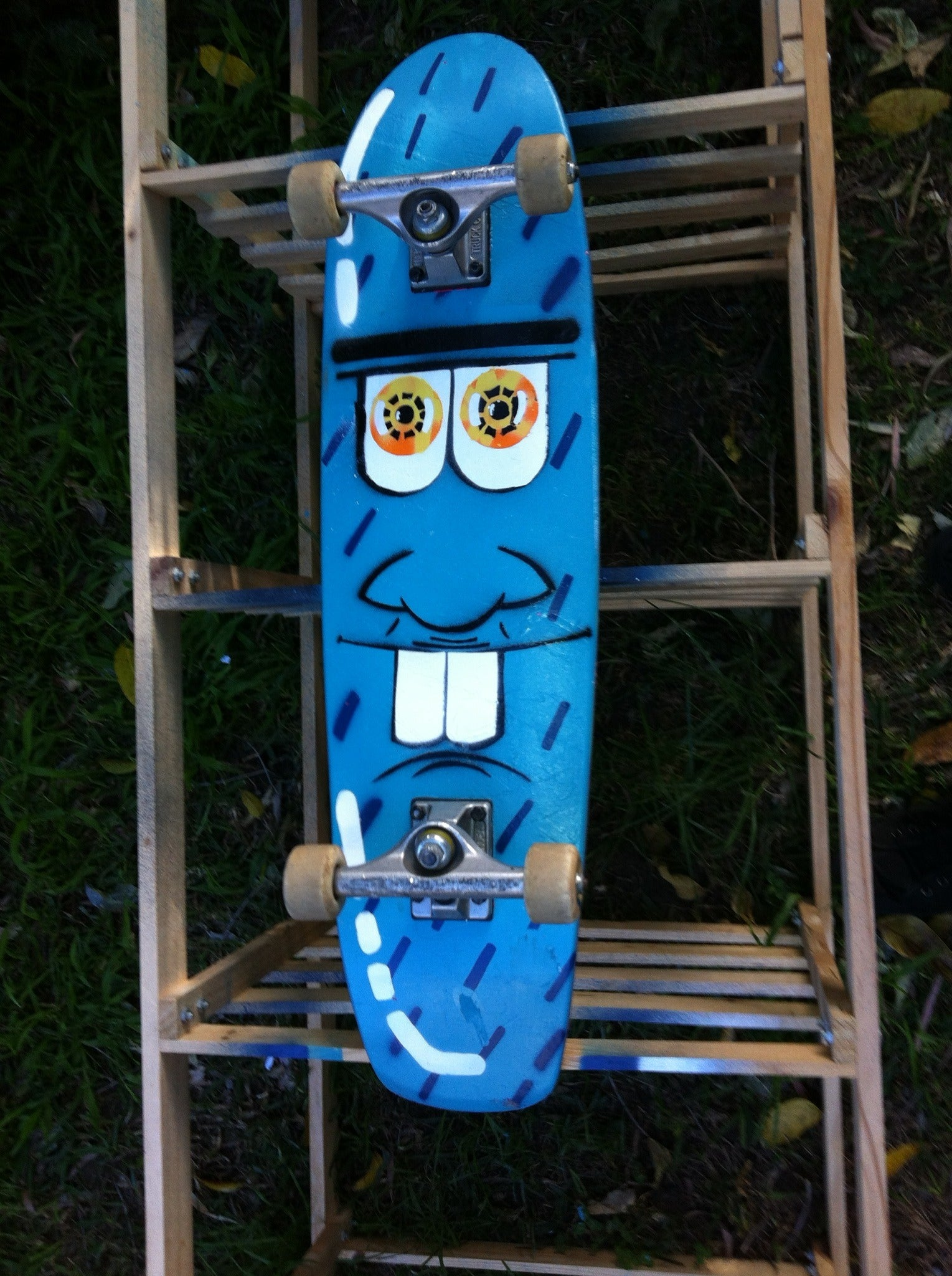 Skateboard Rack Longboard Rack - Aluminium Naked
