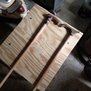 How to Make a Custom Fancy Walking Cane