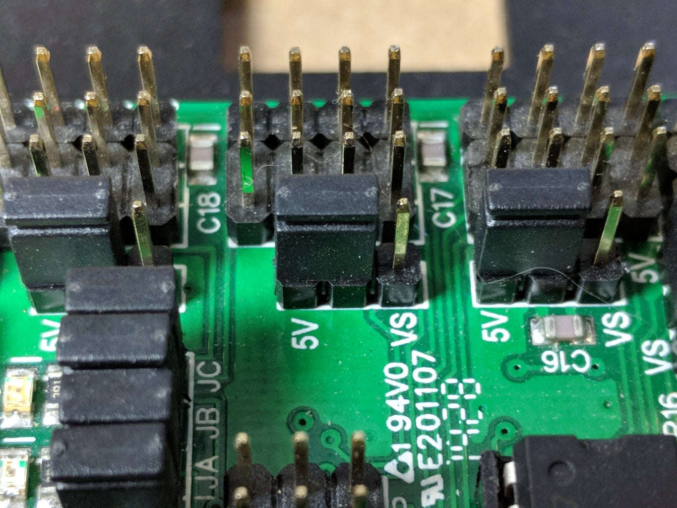 Set Botboarduino and SSC-32 Jumpers