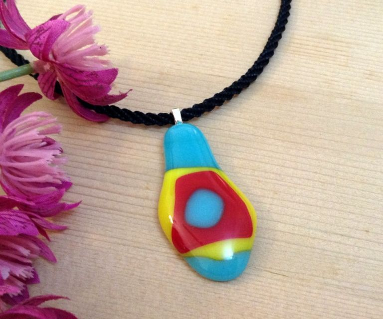 Make a Fused Glass Pendant at Home