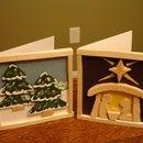Balsa Wood Christmas Cards