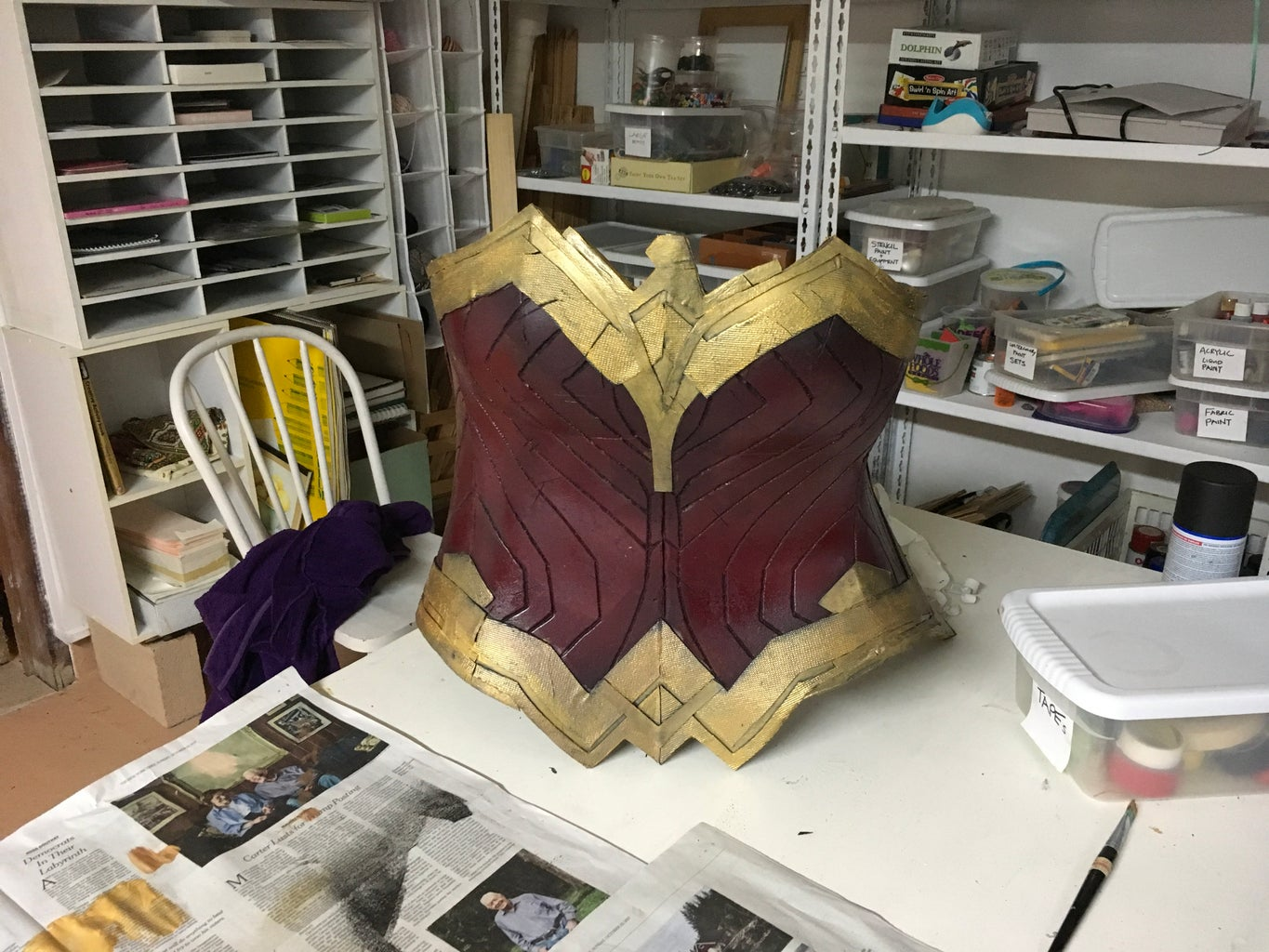 Breastplate/Armour: Detailing