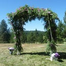 DIY Wedding Arbor- Portable & Adjustable