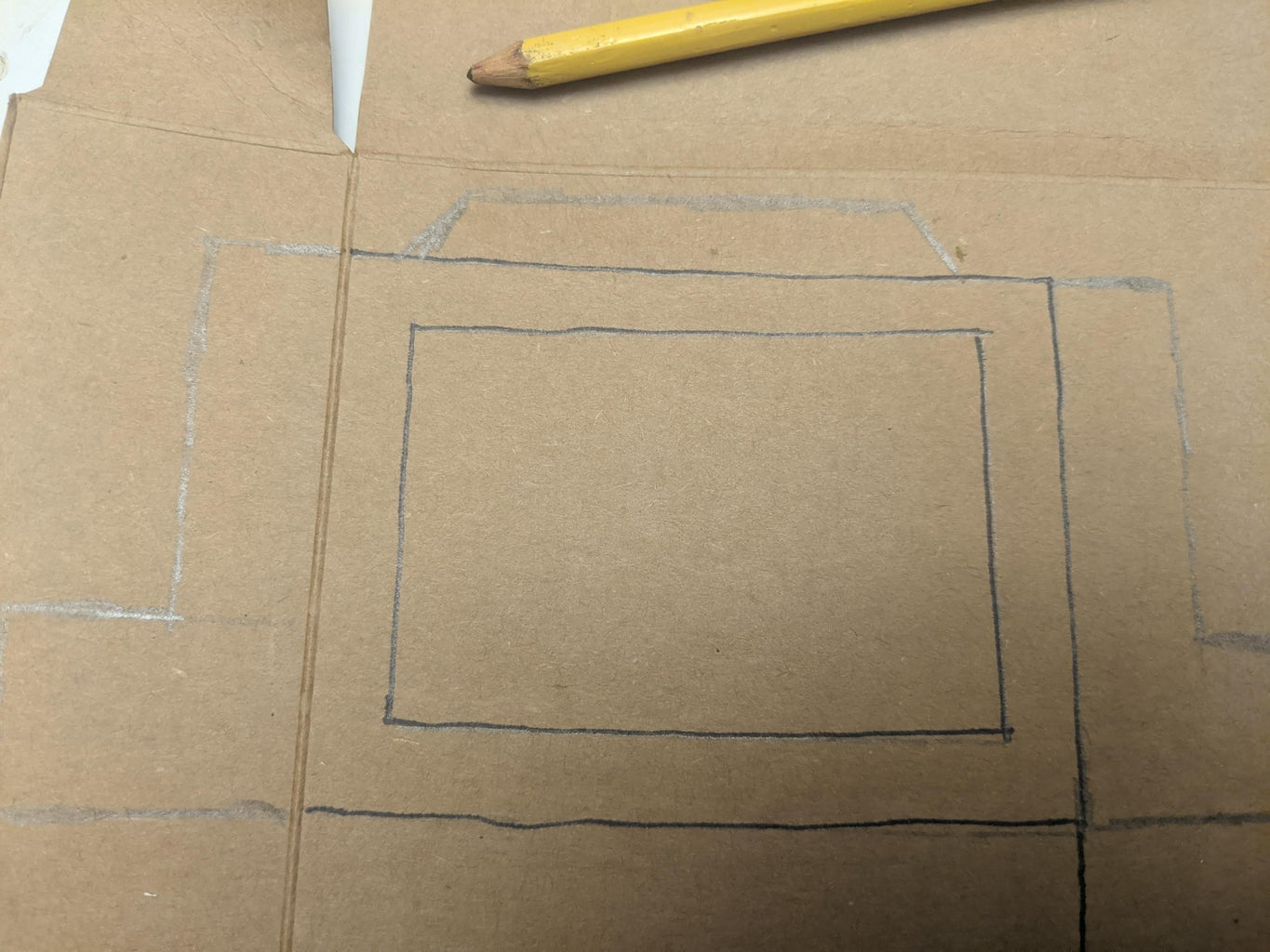 Draw a Tab on Top.