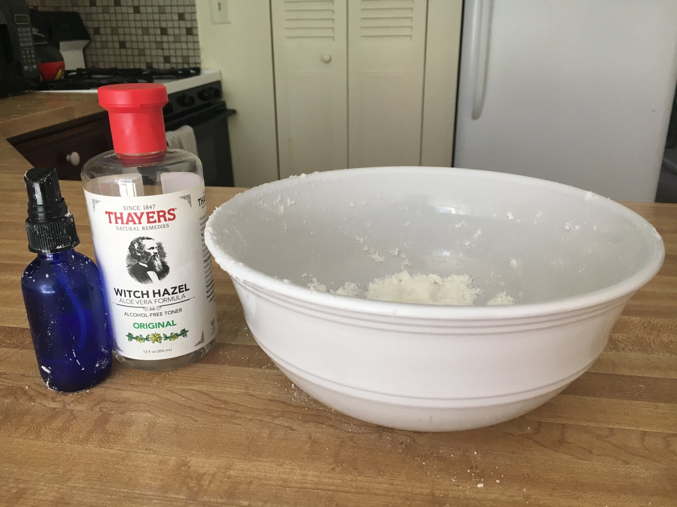 Forming the Ingredients