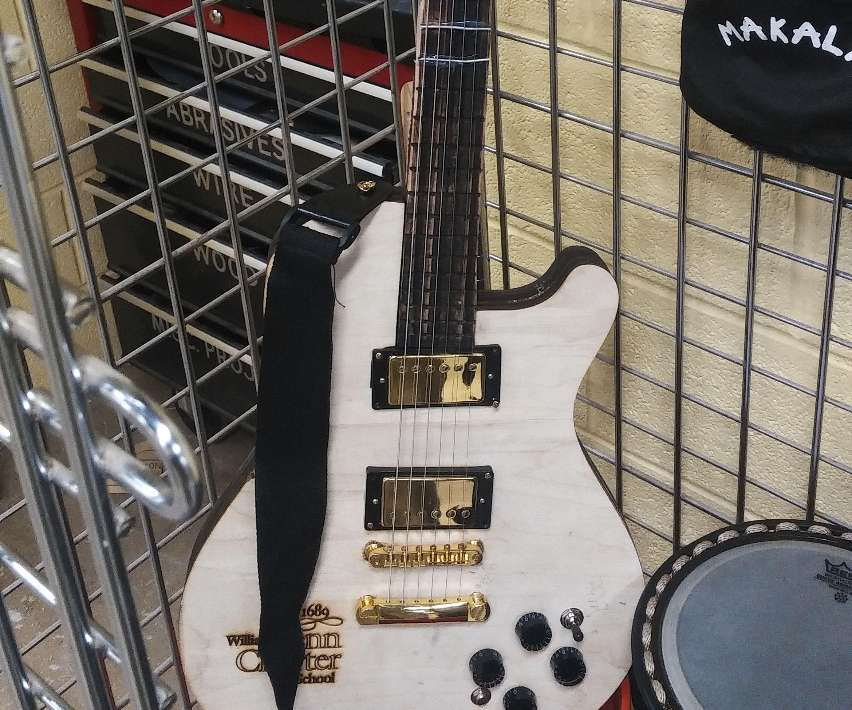 Laser Cut Electric Guitar
