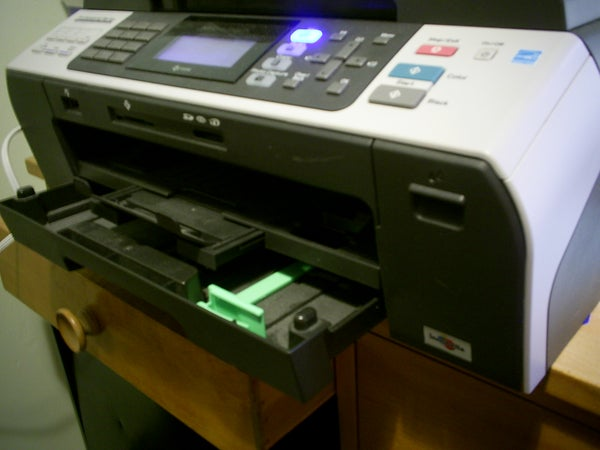 """How to Print With an """"empty"""" Ink Cartridge."""