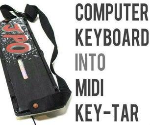 Turn Any Computer Keyboard Into a Midi Keytar