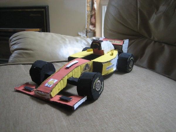 How to Make a Cardboard F1