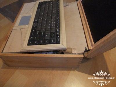 Keyboard and Status LED Board
