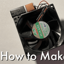 How to Make a Personal Mini Desk Fan Out of an Old Computer – Fits in Your Pocket