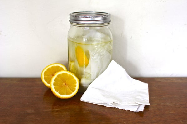 Natural Lemon Dusting Cloths