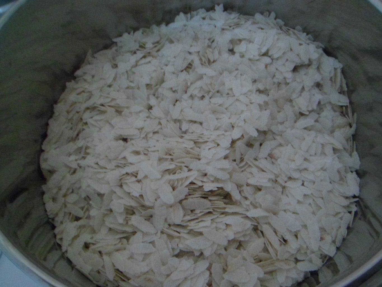 Soak Flattened Rice in Water