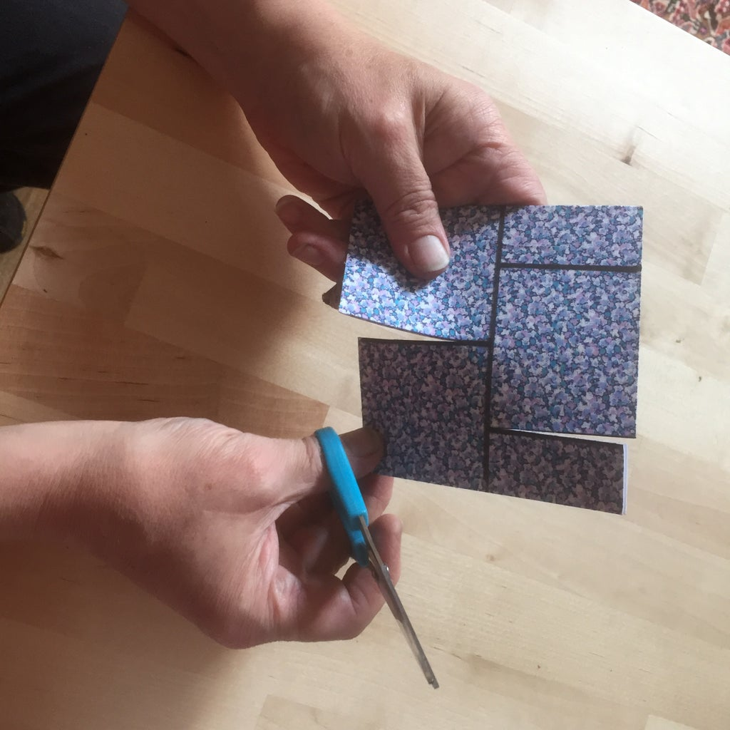 Start With a Square of Card.