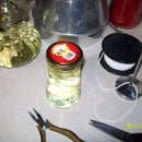 FREE OIL LAMPS with USED COOKING OIL as an additive to LAMP FUEL