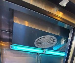 UVC Light Germicidal Cabinet