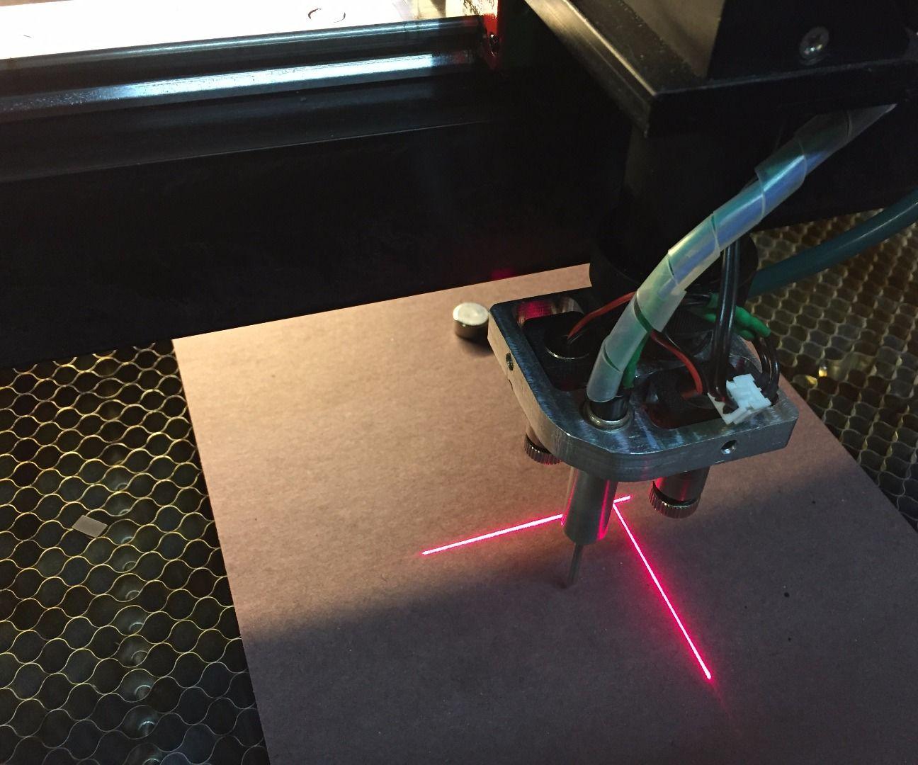 Laser Cutter Crosshair