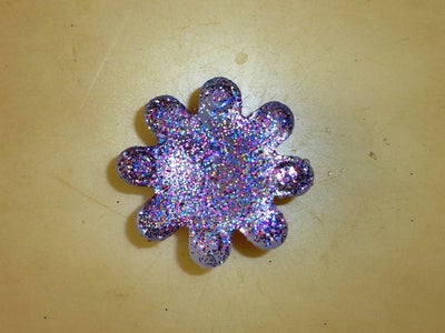 Molded With Mixed Glitter