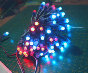 How to Control WS2811 RGB LED With Arduino