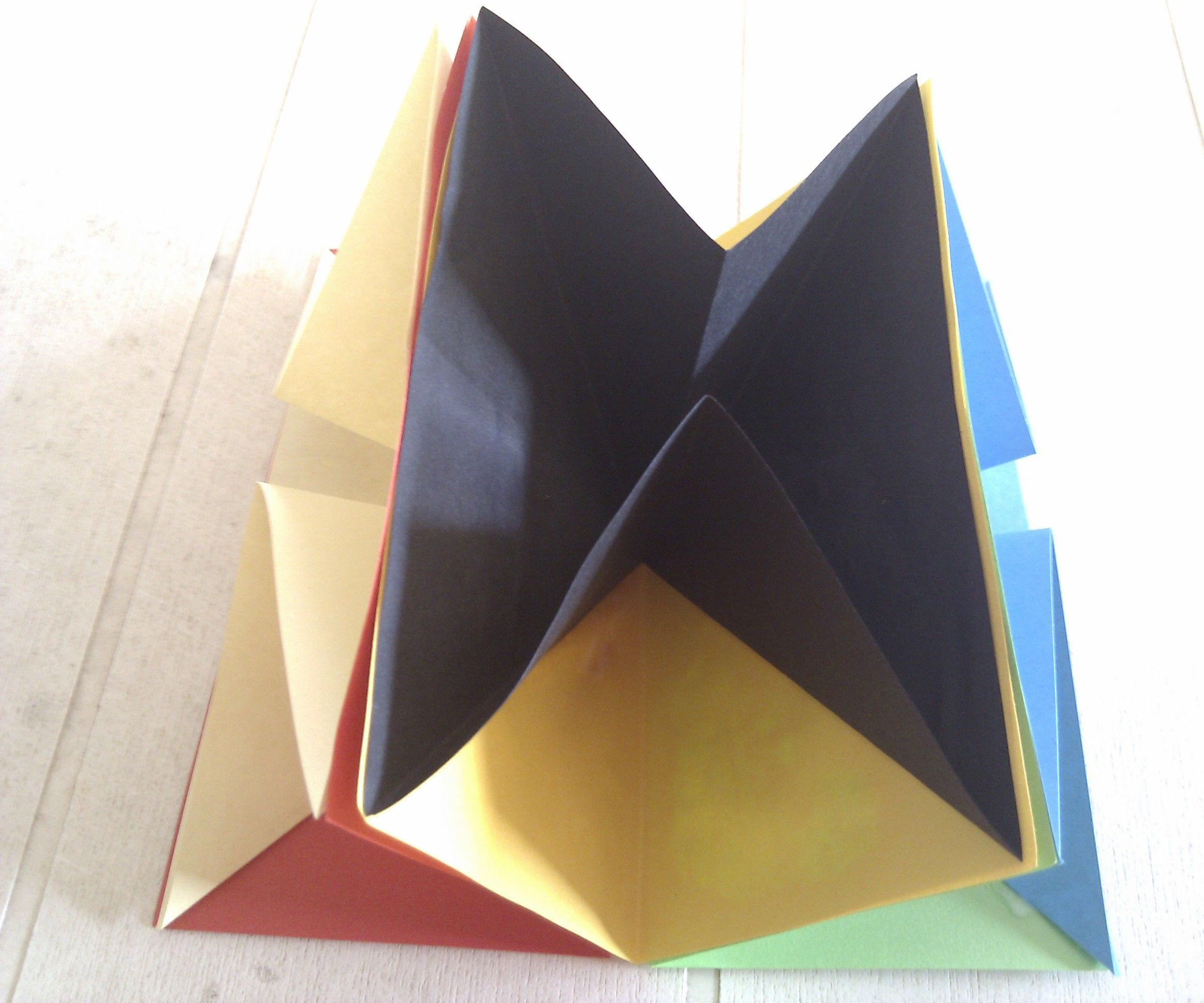 ORIGAMI 3 WAY SORTER OR SIGNATURE