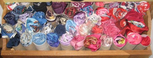 Organise Your Scarves