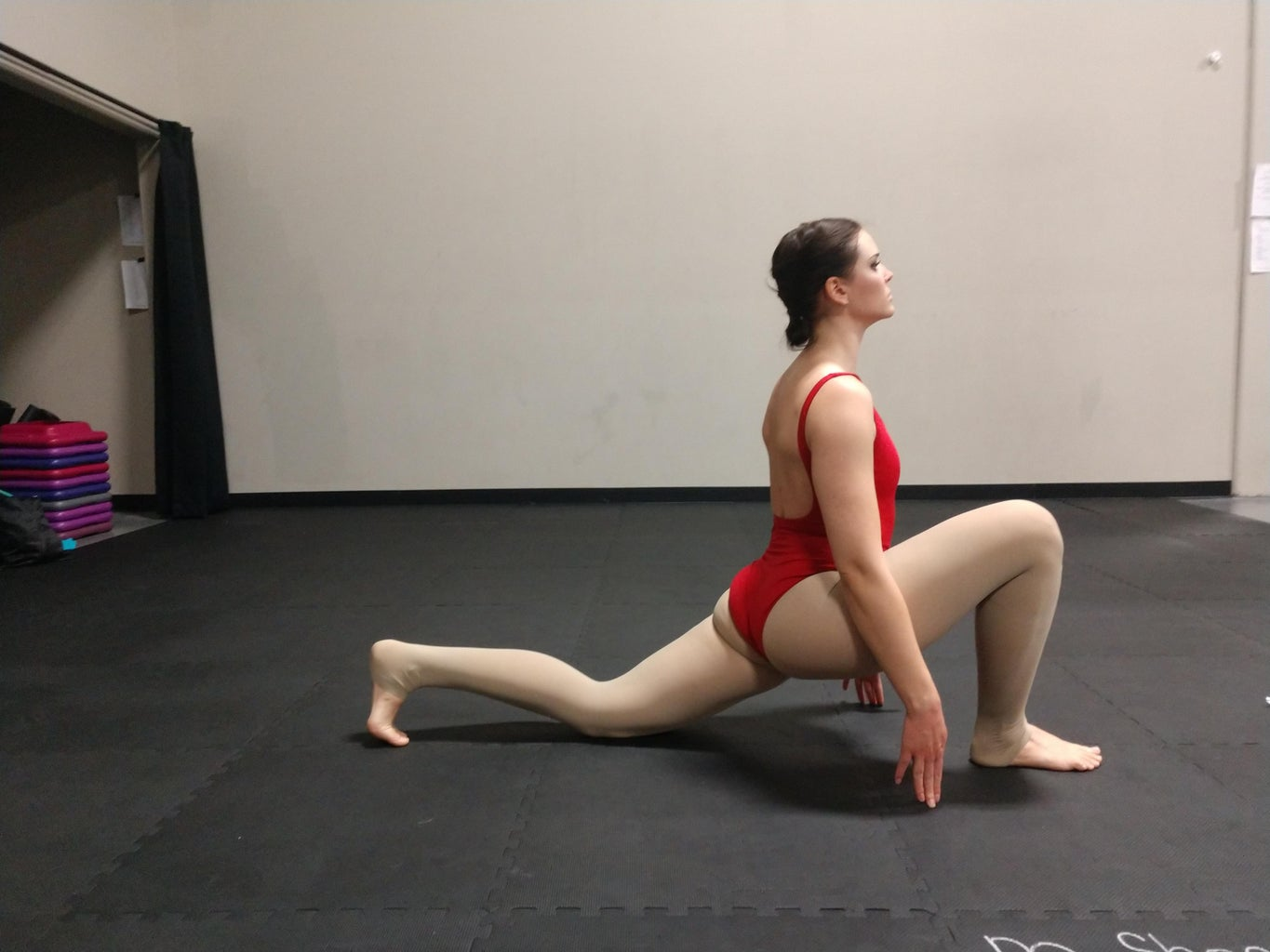 Low Lunge Moving Stretch