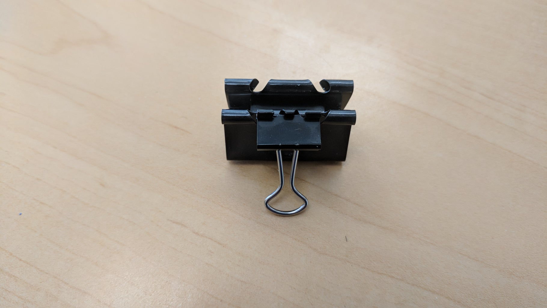 Clip Extra Small Binder Clip to the Medium Binder Clip