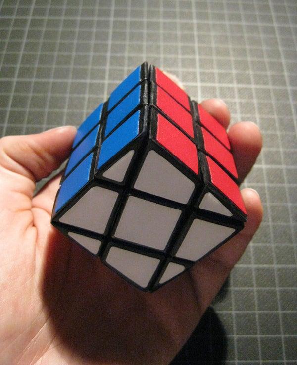 Modified Rubik's Cube