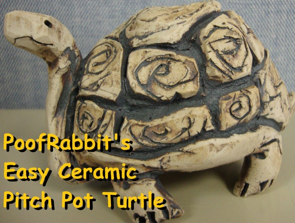 Easy Ceramic Pinch Pot Turtles