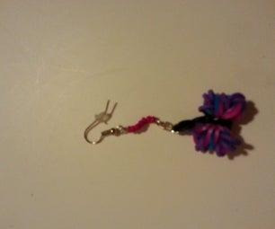Rainbow Loom Earrings