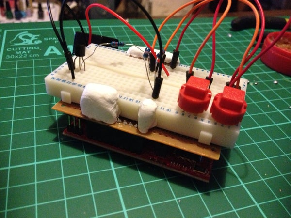 Quick Cheap and Easy Launchpad Prototype Shield. MSP430