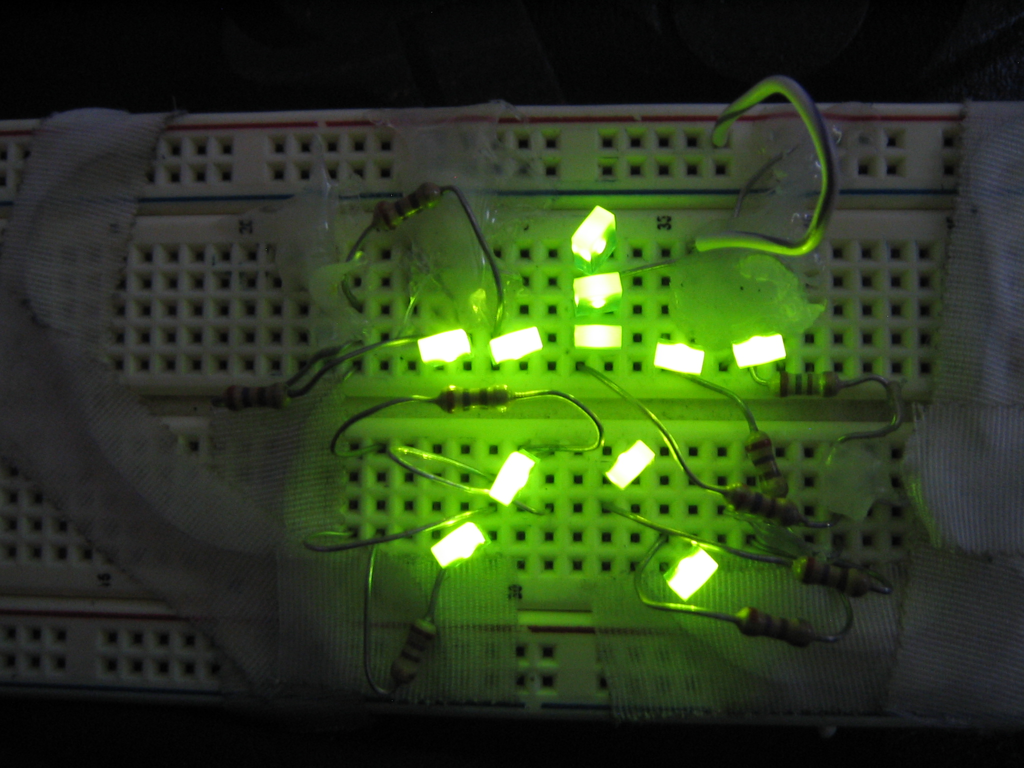 Make a Breadboard Sweatshirt (Instant Wearable Electronics!)